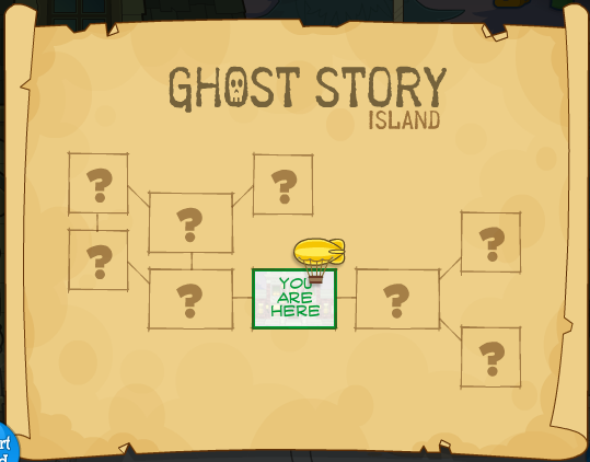 Poptropica Cheats For Ghost Story Island In Words